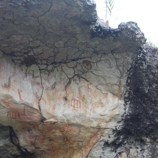 Pinturas rupestres San José del Guaviare