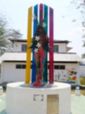 Monumento a La Diosa Macarena