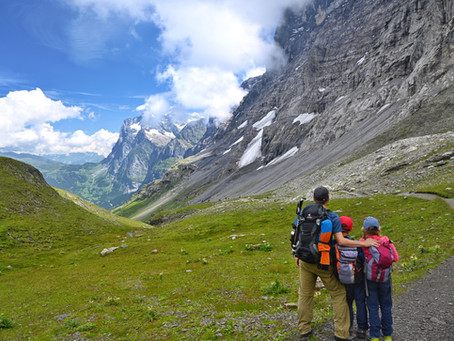 Can Children Really Hike to Huts?