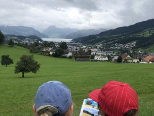 The Comic Trail in Sonneberg, Switzerland