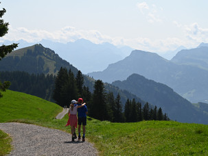Panorama Trail Mt. Rigi, Switzerland