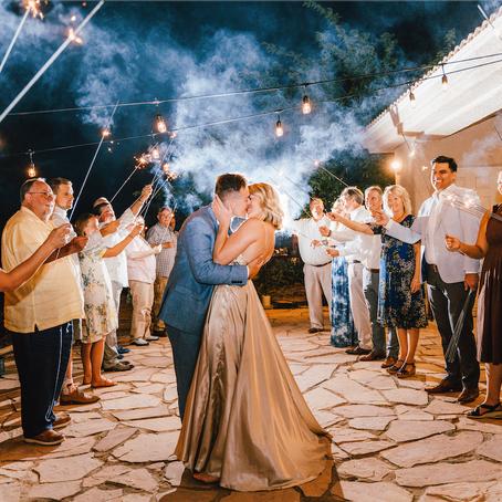 High School Sweethearts Intimate Lake Powell Wedding | Arizona Wedding