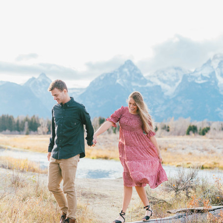 Engagements in the Grand Tetons