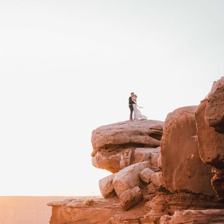 Destination Elopement At Dead Horse Point, Moab