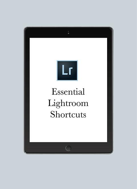Essential Lightroom Shortcuts