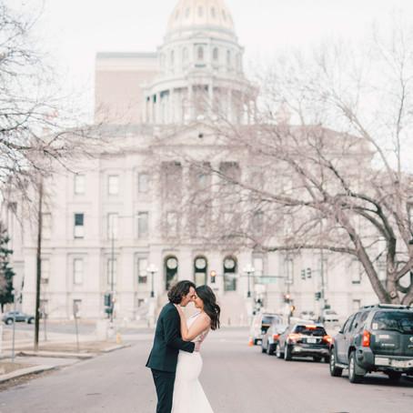 Denver Bridal session