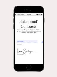 Bulletproof Contracts