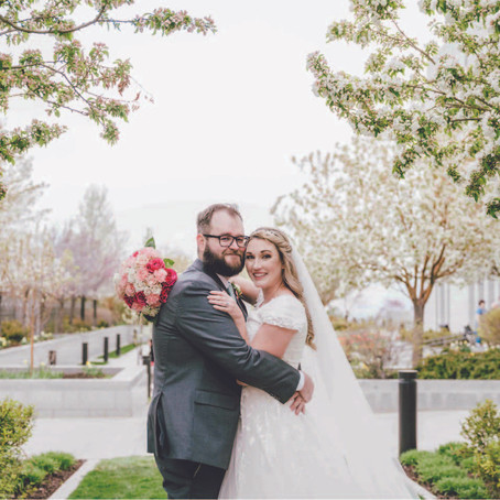 Ballgowns, Blossoms and Blush - A SPRING WEDDING!
