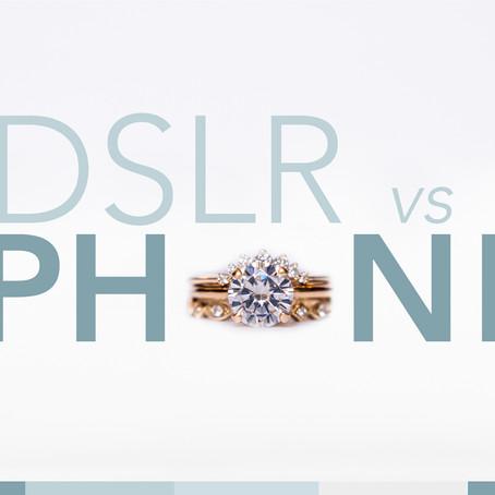 DSLR Camera vs iPhone 8+