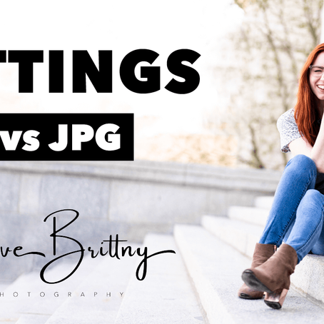 SETTINGS – RAW vs JPG