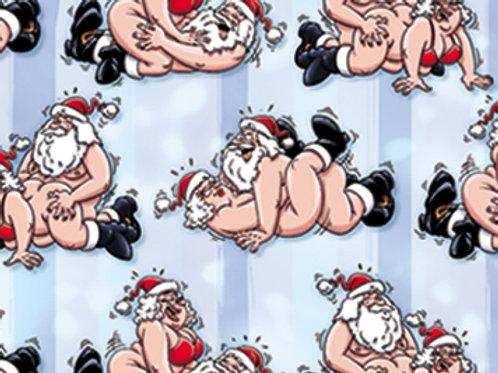 Papier d'emballage Père Noël Sexy !