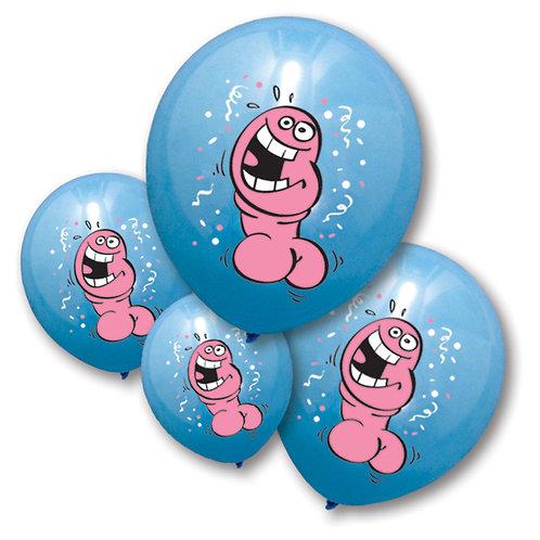 Ballons Bleu Pénis