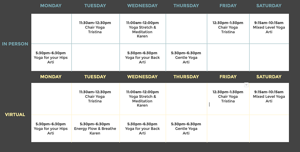 CPW May 2021 Yoga Schedule Photo for Web