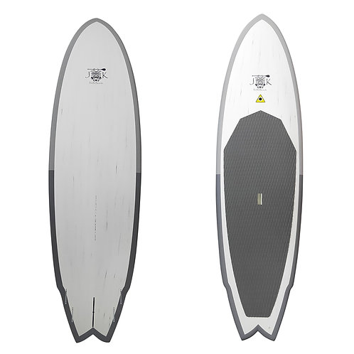 "9' & 9'8"" Full Carbon Rocket Fish Surf SUP- in stores only"