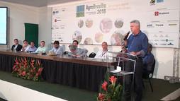 Autoridades visitam a AgroBrasília 2018