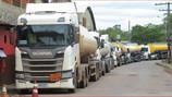 Tanqueiros fazem greve contra valor pago em ICMS em MG