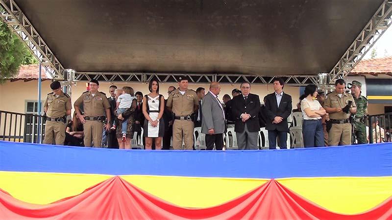 Troca de comando do 45º BPM em Paracatu