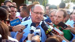 Geraldo Alckimin visita AgroBrasília e fala sobre necessidades do homem do campo