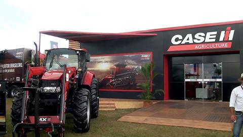 Pivot Case esbanja tecnologia em suas máquinas durante a AgroBrasília 2018
