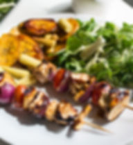 Pollo Shish Kebab