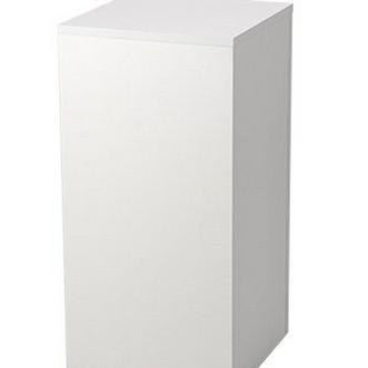 White square cake table
