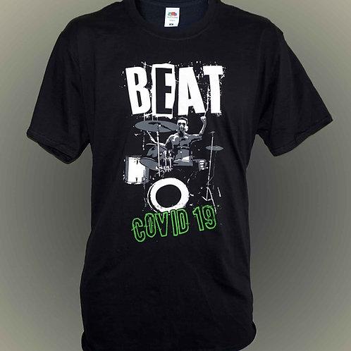 Beat Covid 19 T Shirt.   Free P&P