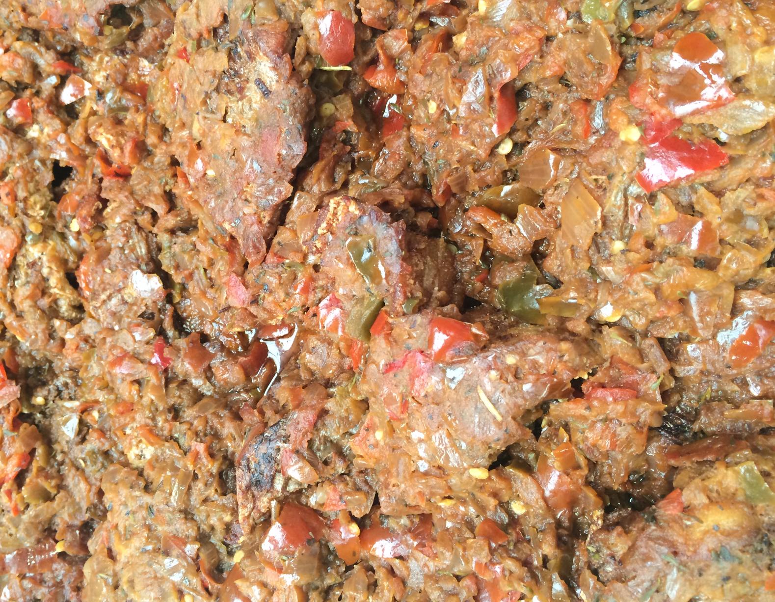 Liberian Style Fish Gravy