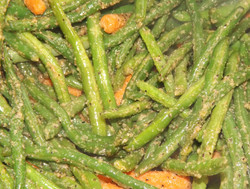 Sauteed Green Beans & Carrots