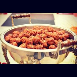 Spicy Glazed Meatballs