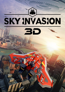 3D Poster SKY INVANSION Video Game