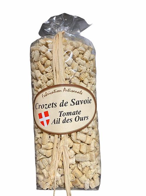 Crozets de Savoie tomate et ail des ours