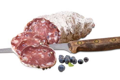 Saucisson aux myrtilles - 34,10 €/kg