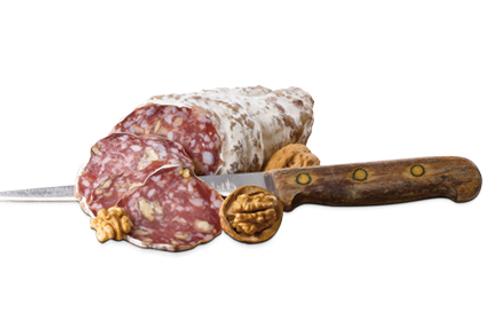 Saucisson aux noix - 34,10 €/kg