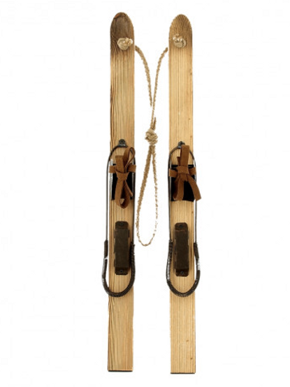 Paire skis en bois 50cm