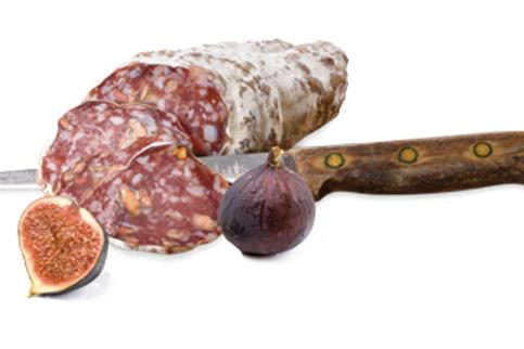Saucisson aux figues - 32,60 €/kg