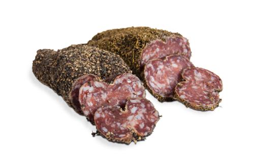 Saucisson enrobé d'herbes - 32,60 €/kg