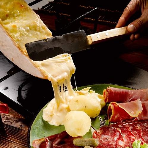 Raclette traditionnelle à racler