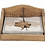 Thumbnail: Range serviette edelweiss en bois vieilli