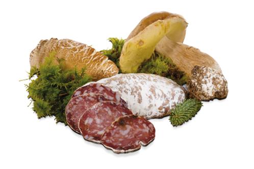 Saucisson aux cèpes - 34,10 €/kg