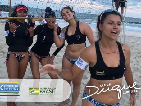 Vôlei de Praia da Duque é medalhista nos Jogos da Natureza