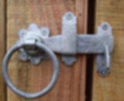 Ring Latch Galvanised