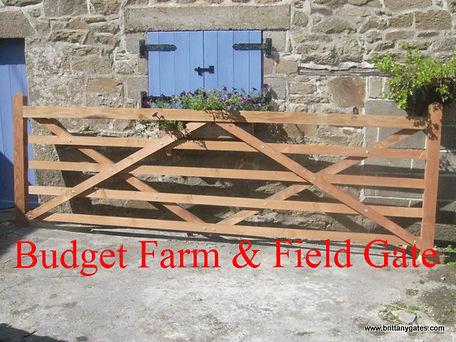 Budget Farm & Field Gate