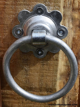 Ring Latch Handle Galvanised