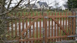 """Chiltern"" heavy palisade gate"