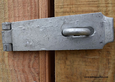 Hasp and Staple galvanised