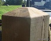 Blunted top Gate Post (Douglas)