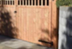 Brookmead Entrance Gate