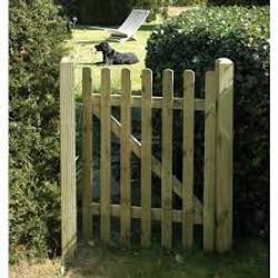 """""""Eazeey"""" palisade gate"""