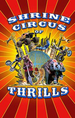 Shrine Circus of Thrillls Logo