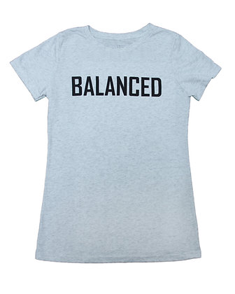 Junior Women's T-Shirt - Heather Grey